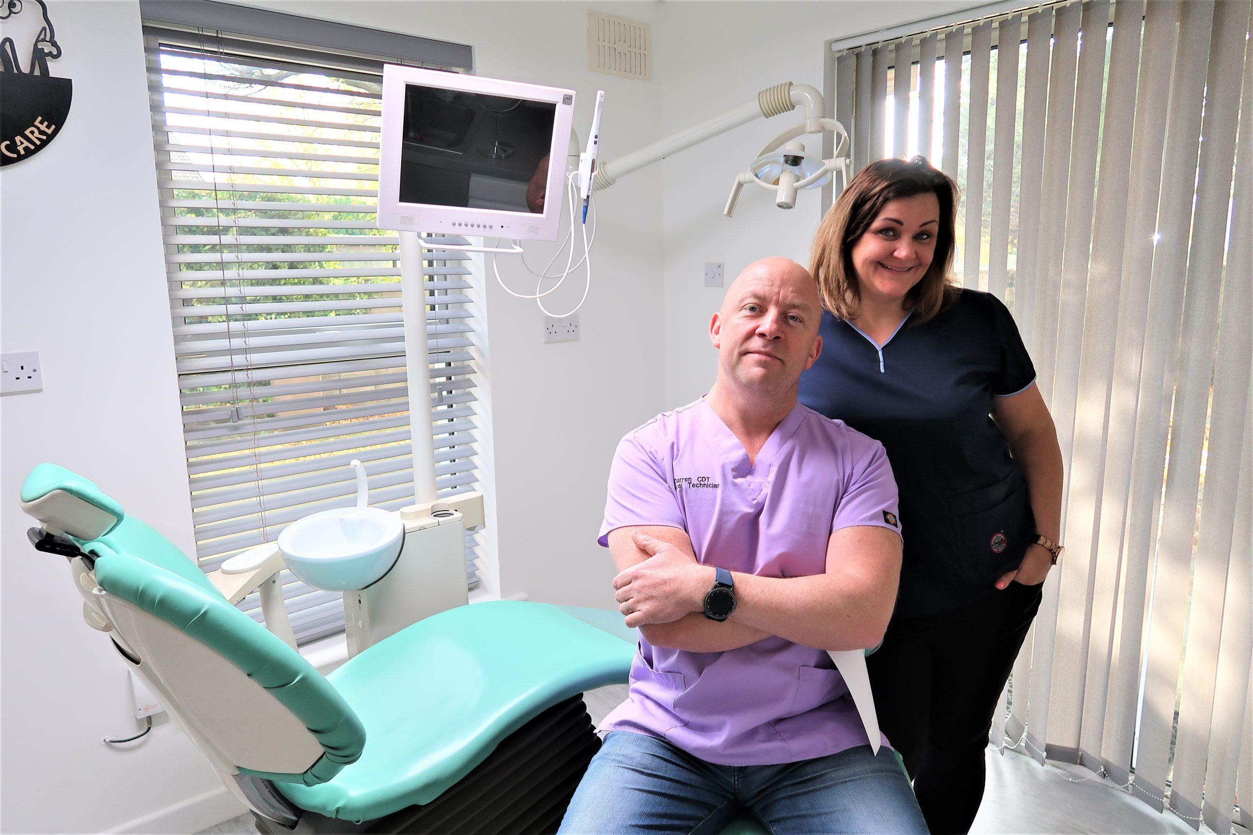 Darren and the Denture Care team